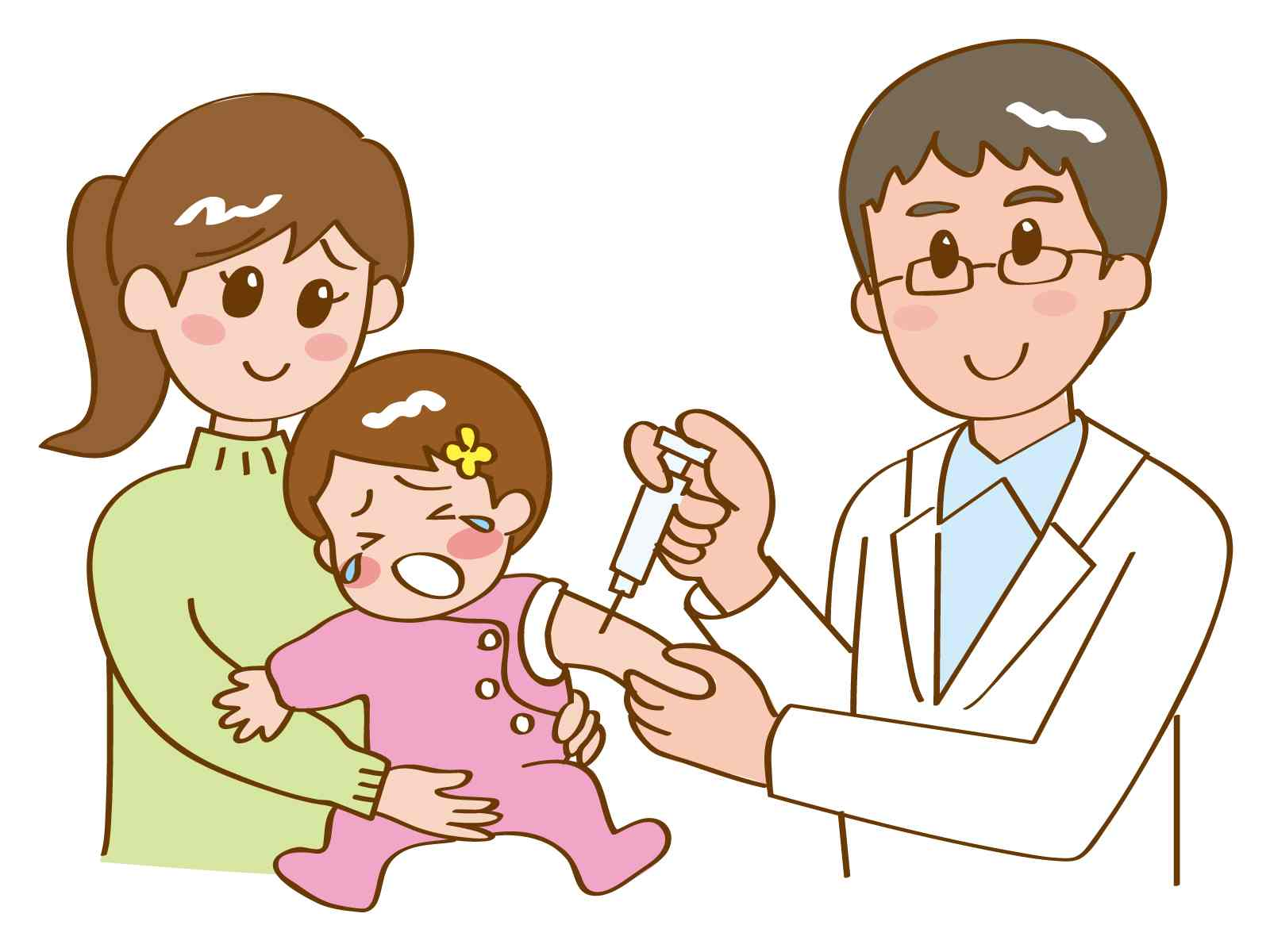 後 接種 赤ちゃん ぐずる 予防
