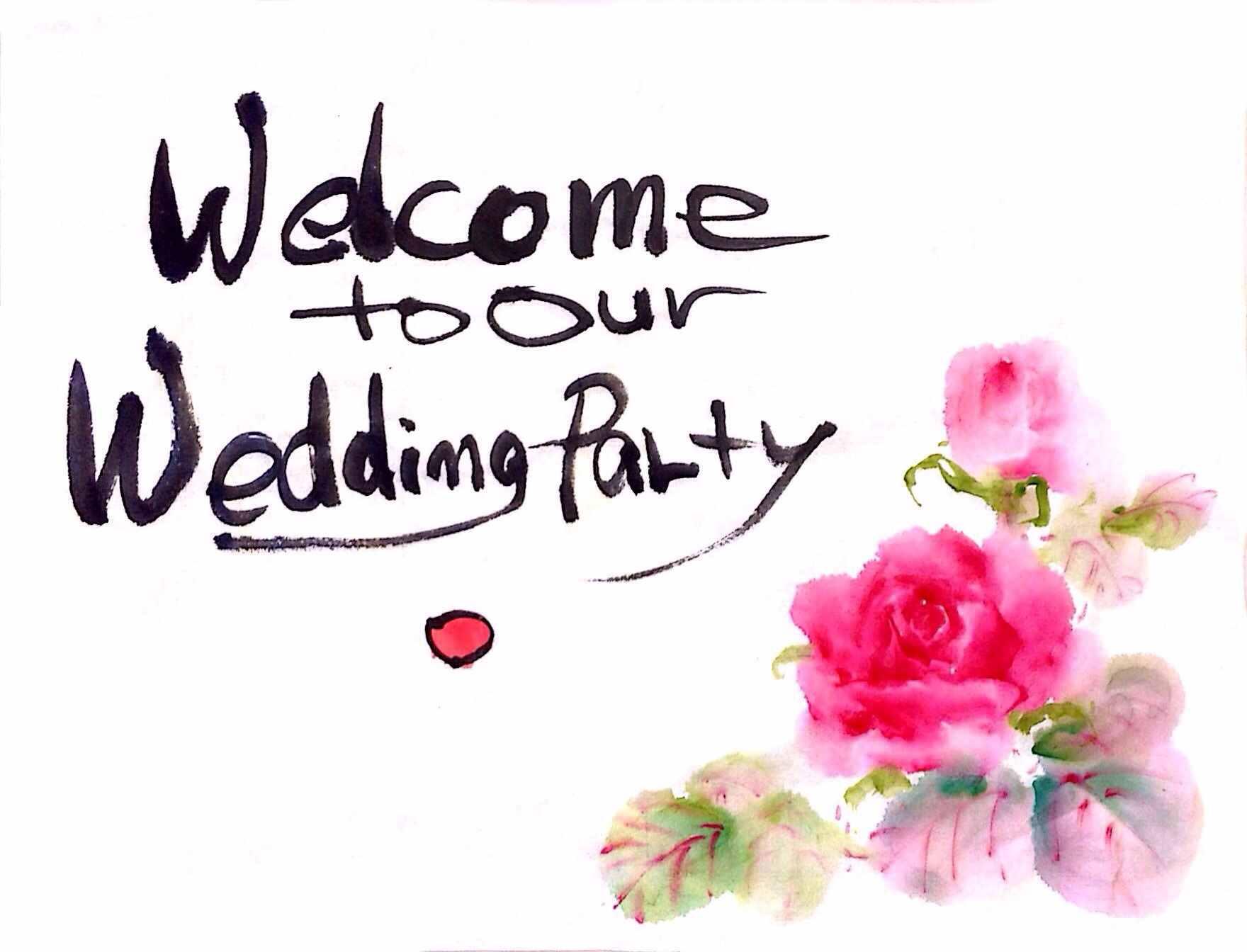 結婚式 ボード 文字